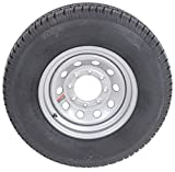 """16"""" Silver Mod Trailer Wheel 8 Lug with Radial ST235/80R16 Tire Mounted (8x6.5) bolt circle"""