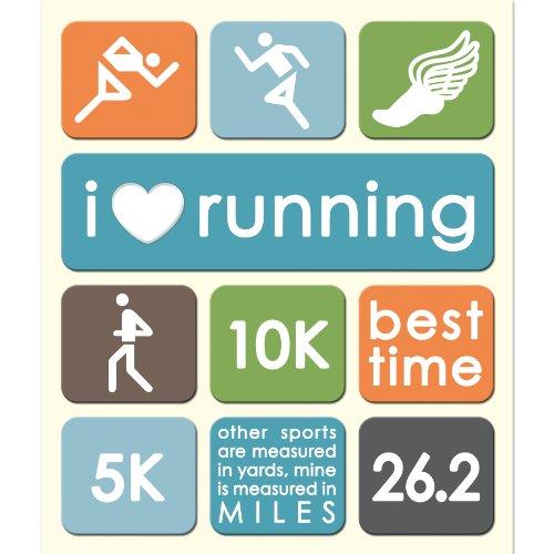 K&Company Running Track Sticker Medley