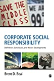 img - for Corporate Social Responsibility: Definition, Core Issues, and Recent Developments book / textbook / text book