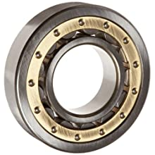 Koyo Torrington Cylindrical Roller Bearing, Removable Inner Ring, Single Row, Open, C3 Clearance, Brass/Bronze Cage, Metric