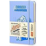 Moleskine 11307 - Libreta con tapa dura, diseño Alicia en el país de las maravillas (Edición Limitada)