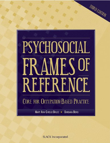 Psychosocial Frames of Reference: Core for...
