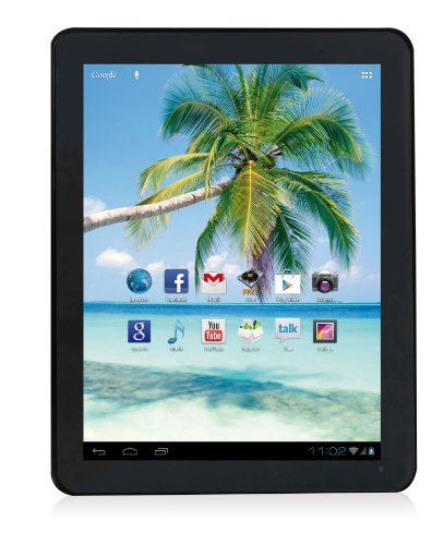 Easypix EasyPad 972 24,6 cm (9,7 Zoll) Tablet-PC (ARM Cortex A9 DualCore, 1,6GHz, 1GB RAM, 8GB HDD, Android) schwarz