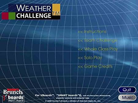 Weather Challenge Game