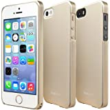 [BETTER GRIP] RINGKE SLIM® iPhone 5 / 5S Case [ROYAL GOLD] SUPER SLIM + LF DUAL COATED + PERFECT FIT Premium Hard Case Cover w/ Full access to all functions for Apple iPhone 5S / 5 [ECO Package]