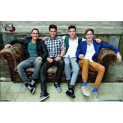 (22x32) Big Time Rush Couch Music Poster