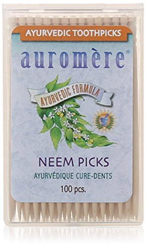 auromere-ayurvedic-toothpicks-neem-100-count-pack-of-12