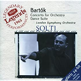 Bart�k: Concerto for Orchestra; Dance Suite; The Miraculous Mandarin