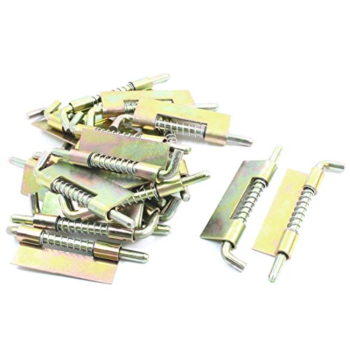 "Home Furniture Metal Right-Handed Spring Load Barrel Latch 3.5"" 20 Pcs front-995852"