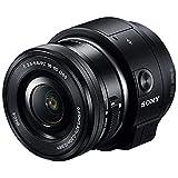 SONY ミラーレス一眼 レンズスタイルカメラ QX1 パワーズームレンズキット E PZ 16-50mm F3.5-5.6 OSS付属 ブラック ILCE-QX1L