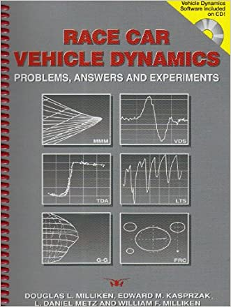 Race Car Vehicle Dynamics: Problems, Answers and Experiments (Premiere Series Books)