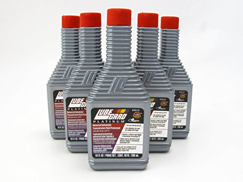 LUBEGARD Lube Gard Automatic Transmission Fluid ATF Synthetic Additive Platinum 6 pack (1999 Honda Civic Atf Fluid compare prices)