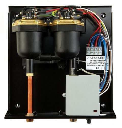 The PowerStar AE125 electric tankless water heater is designed to replace Max Flow Rate (45° rise): 3.7 GPM; Power: 208/240 Volts; Amps (Minimum): 120