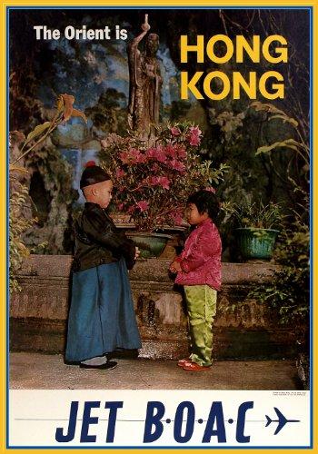 travel-vintage-the-orient-hong-kong-e-boac-jet-aviation-poster-riproduzione-su-morbida-200-g-mq-form