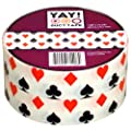 "House of Cards Craft Duct Tape 1.88"" x 10 yds Playing Card Suits"