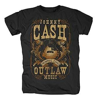 Johnny Cash T-Shirt - Memphis Outlaw (S)