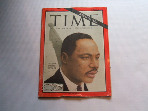 Martin Luther King jr Man of The Year Year Martin Luther King