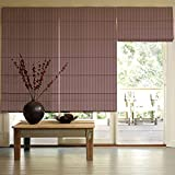 Presto Bazaar Purple Jacquard Window Blind (96 Inch X 44 Inch)