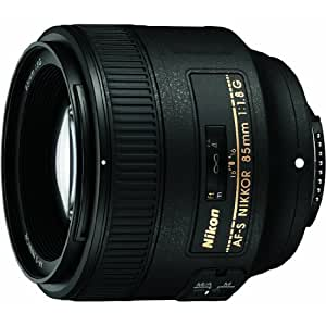 Nikon AF FX NIKKOR 85mm f/1.8G Fixed Zoom Lens with Auto Focus for Nikon DSLR Cameras