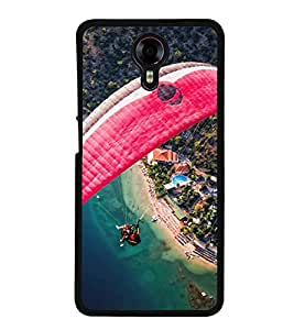 Paragliding 2D Hard Polycarbonate Designer Back Case Cover for Micromax Canvas Xpress 2 E313