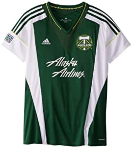MLS Portland Timbers Women's Short Sleeve Replica Jersey, Medium