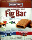 Natures Bakery Stone Ground Whole Wheat Fig Bar 24 Twin Packs