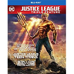 Justice League vs. Teen Titans / Gods & Monsters / Throne of Atlantis [Blu-ray]