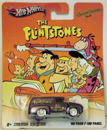 Hot Wheel The Flintstones '56 Ford F-100 Panel Truck Hanna Barbera Friends - 1