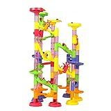 Amazon.co.jpBeby 105pcs ビーズコースター おもちゃ ボリュームアップセット 子供 積み木 くるくる ラトルタワー 知育玩具