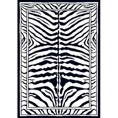 zebra striped rug
