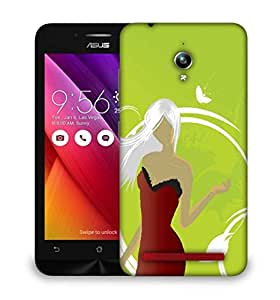 Snoogg abstract illustration Designer Protective Back Case Cover For Asus Zenfone GO