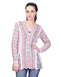 Montrex WHITE Designer Long Coat For Women