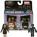 Minimates Marvel Comics Series 40 Captain America - Peggy Carter and Hydra Soldier 2 pack Mini Figure