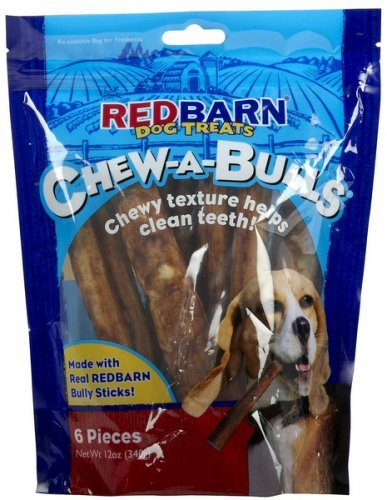 Redbarn Pet Products 785184250068 Redb Chew-A-Bulls Alt, 6-Pack Bag