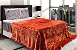 AmazingHind AC blanket.Mink Korean soft double bed ac quilt.The best ac blankets online. Color-Golden
