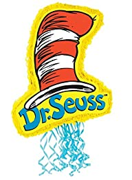 Dr. Seuss 21″ Cat In The Hat Pull-String Pinata