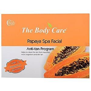 The Body Care Papaya Spa Facial Kit Skin Anti tan Program 45grams