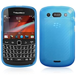 BoxWave Arctic Frost BlackBerry Bold 9900 Crystal Slip - Colorful Slim Fit Frosted TPU Gel Skin Case for Durable Anti-Slip Protection - BlackBerry Bold 9900 Cases and Covers (Smoke Grey)