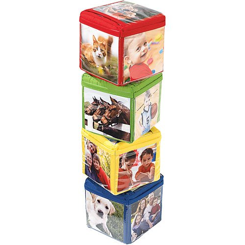 Stack n Smile Photo Blocks Stacking Toy