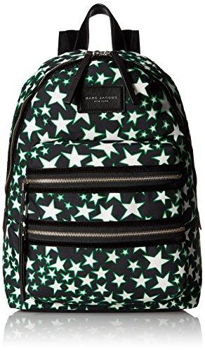 Marc Jacobs Flocked Stars Printed Biker Backpack