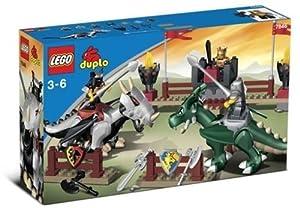Lego Duplo Tournoi des Dragons 7846 (Rouge)