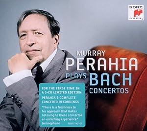 Murray Perahia plays Bach Concertos
