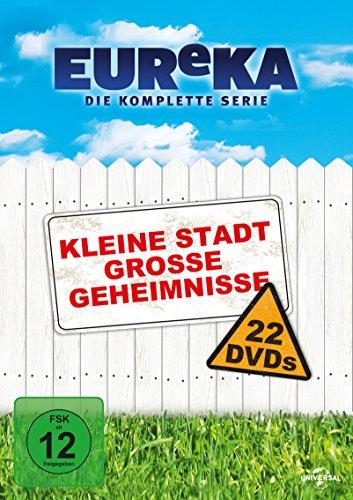 EUReKA - Die geheime Stadt, Die komplette Serie (22 Discs)