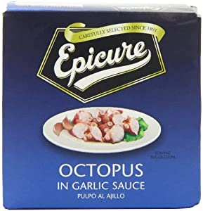 Epicure Octopus in Garlic Sauce 156 g (Pack of 6)