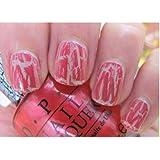 OPI Pink Shatter, Pink of Hearts 2011 - NLE58