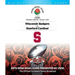 2013 Rose Bowl presented by Vizio [DVD/Blu-ray Combo]