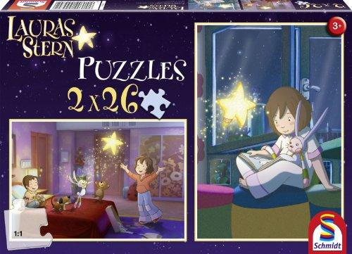 Schmidt Spiele Puzzle 2 x 26 pieces Laura Stern : Chez Laura