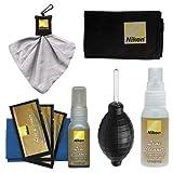Nikon Cleaning Combo Kit: Nikon 3-Piece Lens Cleaning Kit + Anti-fog Cloth + Spudz + Spray Bottle + Blower for D4S - D800 - D610 - D7100 - D7000 - D5300 - D5200 - D3300 - D3200 Digital SLR Cameras & Lenses