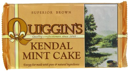 Quiggin's Kendal Brown Mint Cake 170 g (Pack of 12)