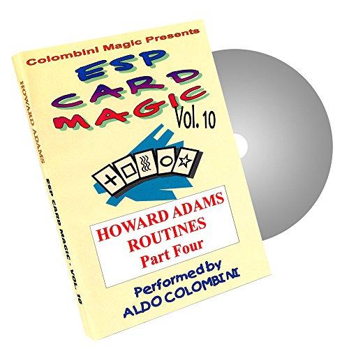 MMS ESP Card Magic (Howard Adams) Vol. 10 by Aldo Colombini - DVD- DVD